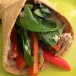 FOX 19:  Hummus and Grilled Vegetable Wrap