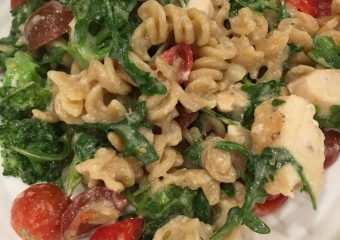 Living Dayton: Lemon Fusilli with Arugula